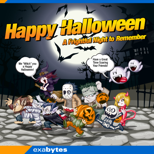 Happy Halloween - A Frightful night to remember