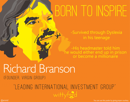 7 born to inspire - Richard Branson