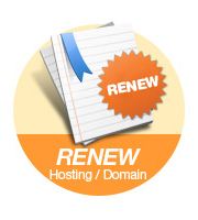 renew hosting/domain